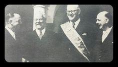Vorster, Verwoerd, Swart en Botha.