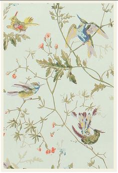 Wallpaper from Anthropologie