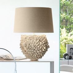 Picture showing Ceramic table lamp lamp