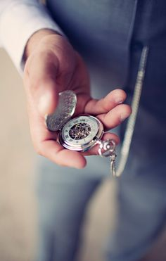 Pocket watch? because when you wear a suit you dont have room for a nice watch AND cufflinks.