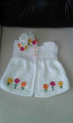 Crochet For Kids, Crochet Baby, Knit Crochet, Baby Pullover, Baby Cardigan, Baby Knitting Patterns, Baby Patterns, Baby Kind, Baby Sweaters