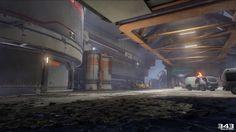 ArtStation - Halo 5 , Andrew Severson