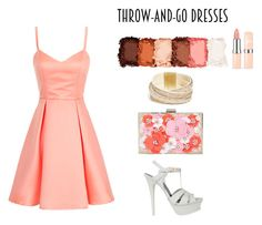 """Untitled #110"" by theresedvr ❤ liked on Polyvore featuring Yves Saint Laurent, New Look, NYX and GUESS"
