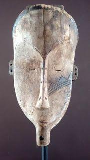 Face Art, Art Faces, Man Sketch, Tribal African, Masks Art, Tribal Art, Pasta Piedra, Insects, Ebay