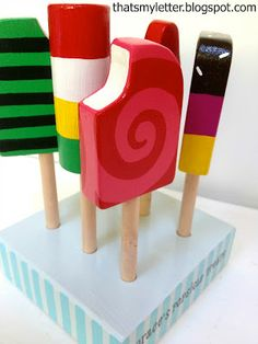 "That's My Letter: ""P"" is for Popsicle Set"