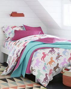 Pony Up Percale Bedding