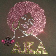 AKA Afro Lady... #kandycoat
