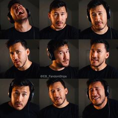 Sean William Mcloughlin, Darkiplier And Antisepticeye, Hank Green, Mark And Ethan, Septiplier, Face Expressions, Cartoon Network Adventure Time, Scary Stories, Princess Bubblegum
