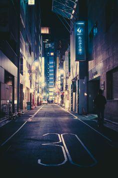 Roads In Tokyo, Japan.