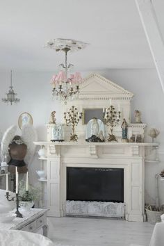 Show Your Family The Greatest Pride – Decorate Your Living Room Using Shabby Chic – Shabby Chic Talk Shabby Chic Kitchen Decor, Shabby Chic Interiors, Shabby Chic Cottage, Shabby Chic Homes, Estilo Shabby Chic, Shabby Chic Style, Shabi Chic, Shabby Chic Fireplace, Vintage Shabby Chic