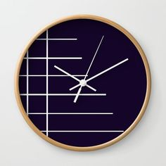 Dimension Wall Clock by bravelyoptimistic