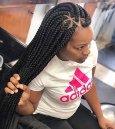 2019 Natural Protective Hairstyles And Braids for Black Women To Try Out - African braids cornrows - braids Nigerian Braids Hairstyles, Box Braids Hairstyles For Black Women, Protective Hairstyles For Natural Hair, Black Girl Braids, Braids For Black Women, Braids For Black Hair, French Braid Hairstyles, African Hairstyles, Quiff Hairstyles