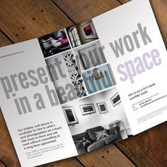 Gallery Rollfold Leaflet by The Ink Closet | Design