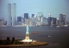 June 18, 1974, just over a year after the twin towers of the World Trade Center were dedicated