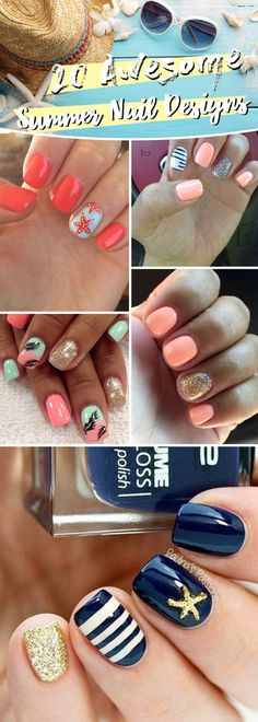 To get that done with utmost simplicity, here are 20 Awesome Summer Nail Designs Complimenting The Season With Hues of Brightness!