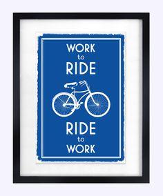 Bicycle Print $18.70, via Etsy.