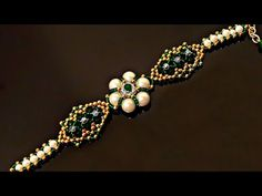 How to make Pearl and Seed Beads Bracelet Tutorial for beginners - DIY Schmuck Seed Bead Bracelets Tutorials, Making Bracelets With Beads, Beaded Bracelets Tutorial, Bracelet Patterns, Bracelet Designs, Jewelry Making, Pearl Bracelets, Pearl Rings, Diy Bracelet