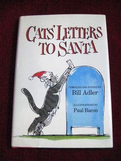 Details about book rudolph the red nosed reindeer robert may written cats letters to santa hc bill adler christmas book spiritdancerdesigns Gallery