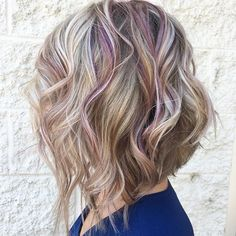 Purple and blonde bliss 💜 #redken #salonwow #loveleehair #redkenelite #pureology #citybeats