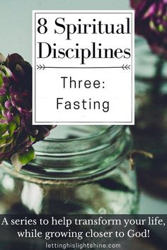 8 Spiritual Disciplines: Three-Fasting Why should we fast? Does the Bible actually command it? Are there different types of fast? Click this post to find the answers to these questions and MORE! #fasting #spiritualdisciplines #spiritualgrowth #God #Jesus #Christian