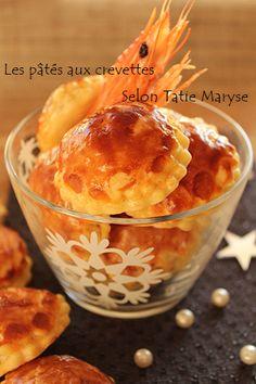 Avec cette recette de pâtés aux crevettes de Tatie Maryse, vous complèterez avec créativité votre panel de pâtés feuilletés... Succès garanti !