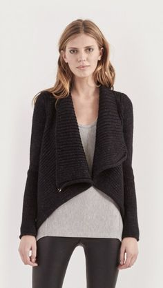 cozy shawl cardi // 20% off with code CYBERMONDAY