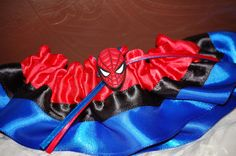 Custom Spiderman Wedding Garter for Geek Weddings and Conventions. $17.50, via Etsy.