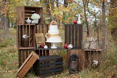 Autumn dessert display / ShutterChic Photography