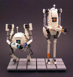 Robots from Portal 2... in LEGO
