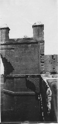 Rabat  Porte du Chellah  Un des côtés de la porte du Chellah  1916.05.15