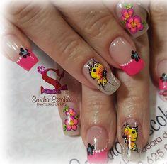 Fingernail Designs, Nail Art Designs, Baby Boomer, Fancy Nails, Nails Inspiration, Pedicure, Hair And Nails, Acrylic Nails, Instagram