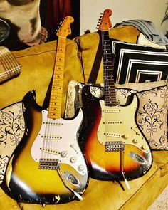 Stratocaster Guitar, Fender Guitars, Taylor Guitars, Guitar Painting, Fender Custom Shop, Jimmy Page, Guitar Strings, Princess Bubblegum, Marshalls