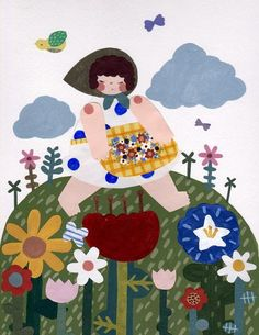 Flower Picking - Josie Knuth / The Pocket Mouse