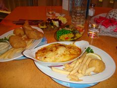 Fishermans Table Oriental Bay Wellington, Terakihi Fillet Mornay and Snapper fillets