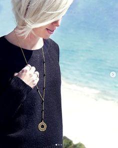 """Κολιέ """"The Embroidery"""" - Κοσμήματα Online Silver Pendants, Pendant Necklace, Jewels, Embroidery, Vintage, Fashion, Moda, Needlepoint, Jewerly"""