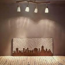 Afbeeldingsresultaat voor joburg skyline string art