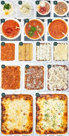 lasagna recipe Learn how to make The Best Lasagna complete with a homemade hearty beef and sausage sauce, ricotta, layered with lots of mozzarella and parmesan. With my step-by-step instructions you are guaranteed the perfect lasagna every time! Cottage Cheese Lasagna Recipe, Easy Lasagna Recipe With Ricotta, Homemade Lasagna Recipes, Classic Lasagna Recipe, Best Lasagna Recipe, Beef Recipes, Italian Recipes, Cooking Recipes, Lasagna Soup
