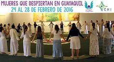 28 FEB Ecuador - Mujeres Que Despiertan y Laura Moreno Talleres Consultas y Ceremonias en Guayaquil