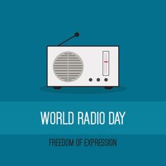 13 February is World Day — a day to celebrate radio as a medium. As radio continues to evolve in the digital age, it remains the medium that reaches the widest audience worldwide. World Radio, February, Events, Age, Medium, Digital, Movie Posters, Film Poster, Billboard