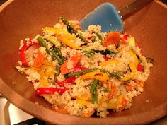 Dinner in Gym Clothes:Roasted Vegetable Quinoa