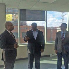 Le consul haïtien à Montréal visite le Groupe 3737 !