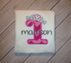 Princess Birthday shirt on Etsy, $20.00
