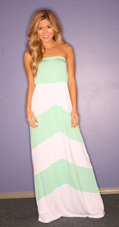 Sun and Sand Maxi in Mint | Impressions