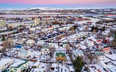 Iceland Drone Photos - Reykjavik