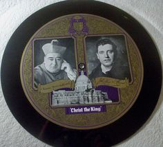 """""""Happy New Year Auction"""" startprice 9,99 Euro #78rpm #Schellackplatte JOHN McCORMACK  Hymn To Christ The King  very rare picture record 78rpm 12"""