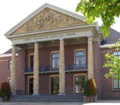 F.P.J. Peutz, Tegelen Town Hall (1938) photo Rosa Visser-Zaccagnini
