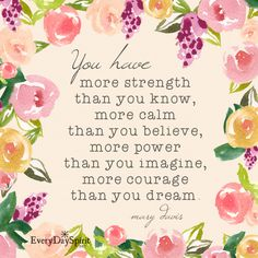 You are amazing. For the app of beautiful wallpapers ~ www.everydayspirit.net xo