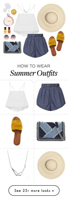 """Summertime Madness: SHORTS"" by silverheartwood on Polyvore featuring A.L.C., STELLA McCARTNEY, Fendi, 1.State, ALDO, Deborah Lippmann and Illamasqua"