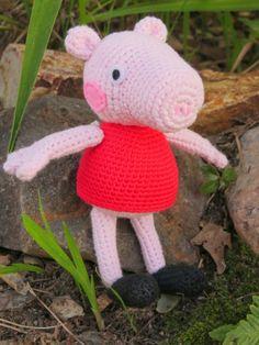How To Crochet Peppa Pig Purse Bag Free Pattern Tutorial By Marifu6a : Peppa on Pinterest Peppa Pig, Amigurumi and Feltro