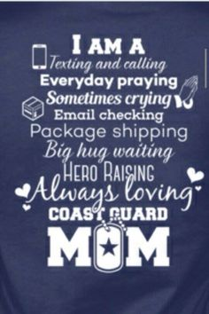 e941a238127 49 Best Coast Guard Mom images in 2019